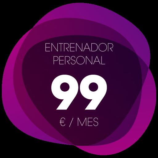 Entrenador personal 99€/mes